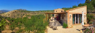 Photo for Idyllic holiday home in the midst of nature, discover authentic Spain | Oliva