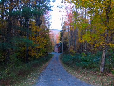 Photo for Beautiful 3-bedroom Log Cabin On 50+ Acres Overlooking the White Mountains