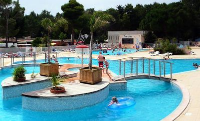 Photo for Camping Taxo les Pins **** - mobile home 6 people - 6 places