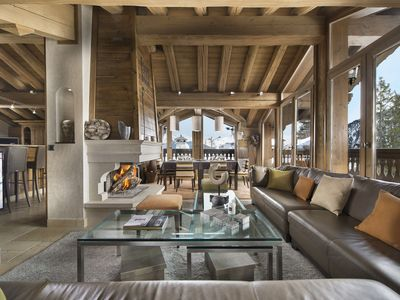 Photo for Superb chalet with sauna in Courchevel 1850