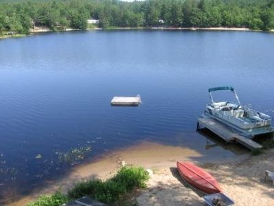 Photo for Waterfront Family Fun on Danforth Pond; Boat to Ossipee Lake