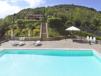 Photo for Casa Emilia - Country house with swimming pool and panoramic view.
