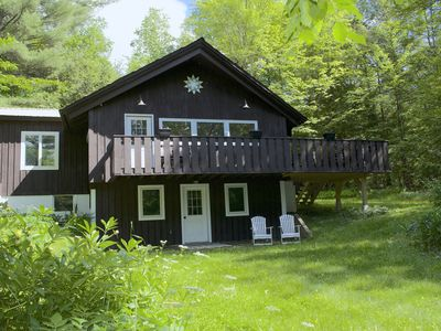 Photo for Sunny Chalet Near Village w/Deck & A/C * Clean & Ideal for Allergy Sensitive