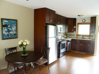 Kitchen & dining from Livingroom.