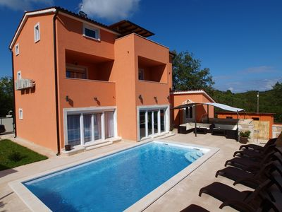 Photo for Luxury Villa With Heated Swimming Pool