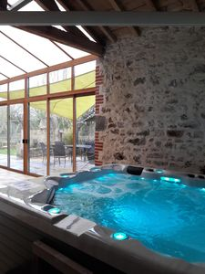 Photo for Indoor pool and spa, 10 people