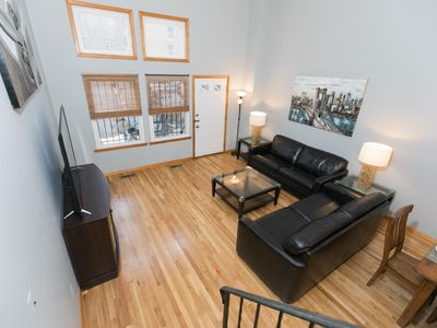 Photo for Sleeps 14 - 4 Bedroom - 2.5 Bath - 8 Beds - BBQ - Patio - Just 7 Minutes to NYC 505A