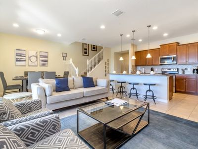 Photo for 8870GC  Fantastic New 5 Bed 4 Bathroom Town Home on Windsor at West side Resort