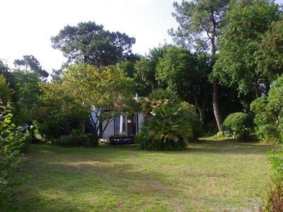 Photo for Small charming house, large garden, quiet, 800m beach and Capbreton center