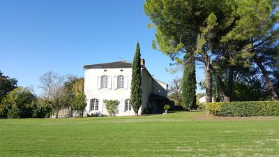 """Photo for Charming cottage """"Le Meslier Saint François"""" with swimming pool and large park"""