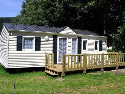 Photo for Camping Les Granges Bas ** - Mobile home 4 Rooms 6 People