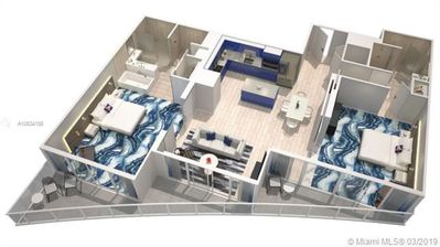 Photo for 2 Bedroom; 2 Bathroom; Double en-suite; Ocean View at W Residences