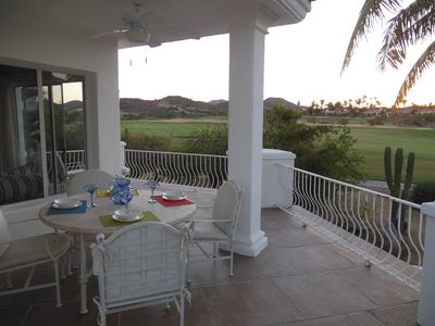LARGE VILLA WITH WRAP AROUND DECK ON THE GOLF COURSE