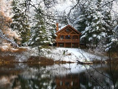 Photo for chalet le ricalin at the water's edge