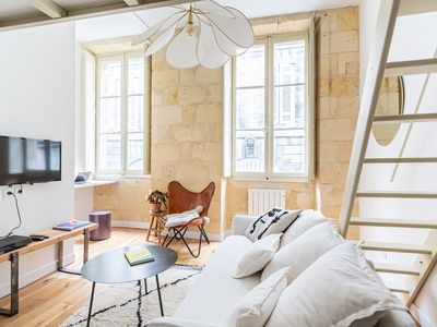 Photo for 1BR Apartment Vacation Rental in Bordeaux
