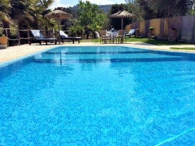 Photo for Tortuga Island, private Finca, wifi, swimming pool, gardens and terraces.