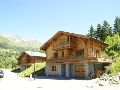 "Photo for Holiday house in ski area ""Saint François Longchamp"", between the mountains and nature"