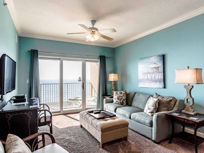 Photo for Charming Beachfront Condo! New Updates. Sitting on the Sand of Gulf Shores. Access to All Resort Amenities!