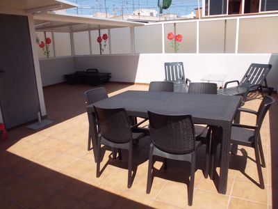 Photo for Charming apartment/ flat  with large terrace in Alicante city