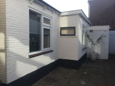 Photo for Nice summer house in Katwijk, close to the beach, the sea and the center!