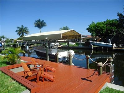 Photo for That One Particular Harbor - Gulf Access Pool Home  3/2