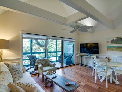 Photo for Short Walk To Beach | Wifi | Screened In Porch | 1 BR Kiawah Island Villa