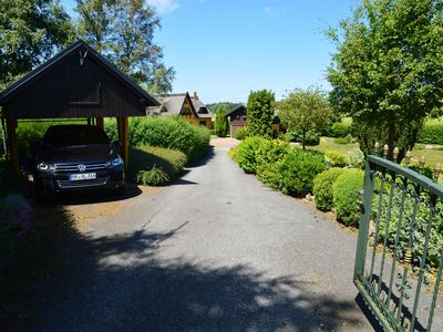 Photo for Exclusive thatched house with large park-like garden, near the Baltic Sea, very quiet