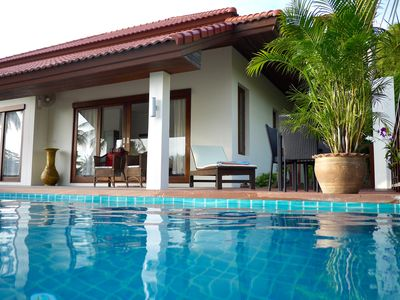Photo for Beautiful villa between Lamai and Hua Thanon, pool, sea view