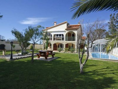 Photo for Villa with magnificent views of the Alberes and Mount Canigou