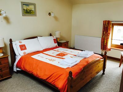 large spacious double bedroom