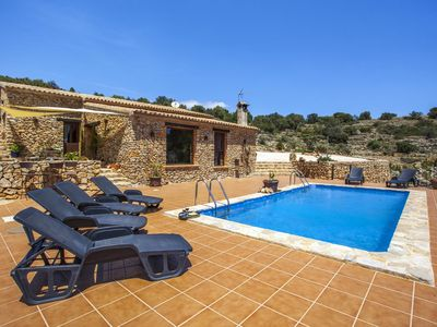 Photo for <![CDATA[CALIMA – Peaceful property with views to the sea and the mountain in Benissa ]]>