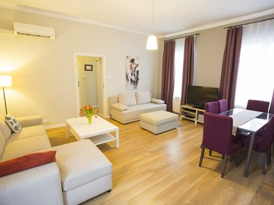 Photo for M10 apartment in Stare Miasto with WiFi & air conditioning.