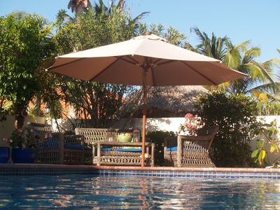Tranquil 3 bedroom villa minutes from beaches ,restaurants , shopping and golf.