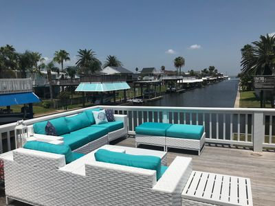 Photo for The BEST and most unique Sea Isle canal-view home