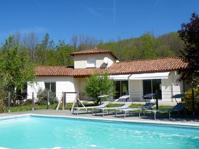 Photo for Villa Beausejour Home 10/12 people with pool