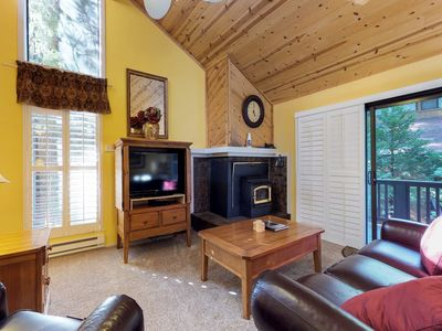 Photo for Peaceful mountain condo w/ shared pools & hot tubs - 2 miles from Shaver Lake!