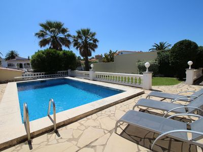 Photo for Cozy Holiday Home in Empuriabrava Spain with Private Pool