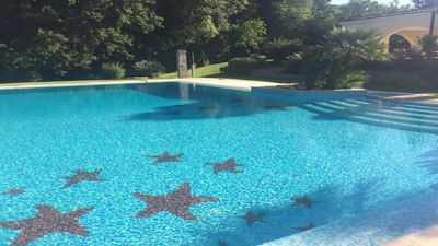 Photo for Charming Villa in beautiful garden 20 km from Rome on the Olgiata Golf Course