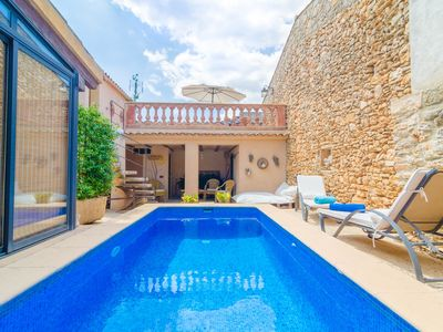 Photo for CA NA MISSA 8 - Great townhouse, with an additional apartment and private pool in Llubí.