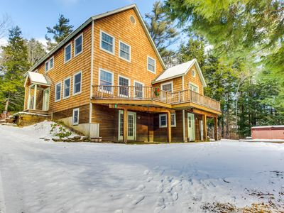 Photo for Spacious home for large groups. Outdoor hot tub, Okemo just 2 miles west!