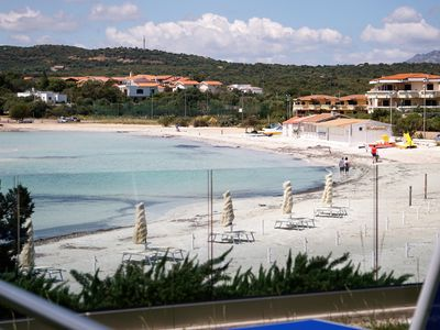 Photo for Aironi II - Modern & luxurious apartment right on the beach of Golfo Aranci