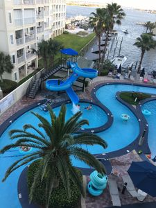 Photo for Casa on the Cove~Water Slide & Lazy River~ 2nd Floor Overlooking Marina