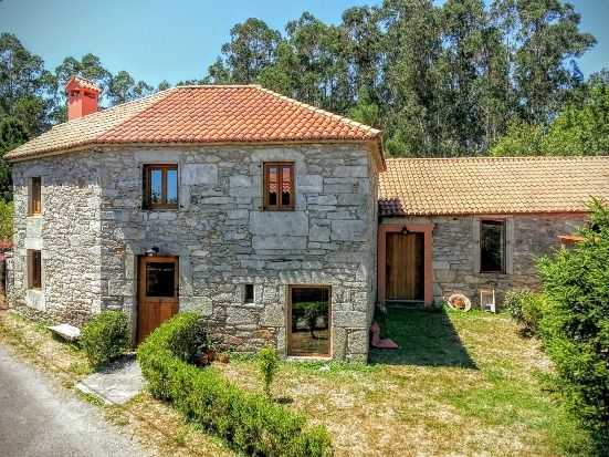 Casa rural en la playa para 6 personas en monfero 10120815 for Casas rurales galicia
