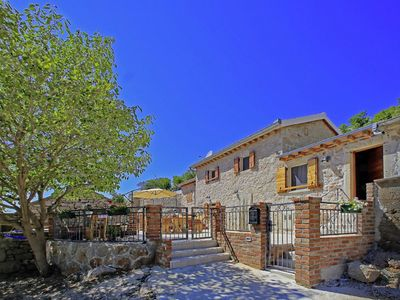Photo for Authentic stone house with  pool and wellness .Sea and mountain view!