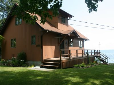 Photo for Waterfront Cottage On Beautiful Whites Bay