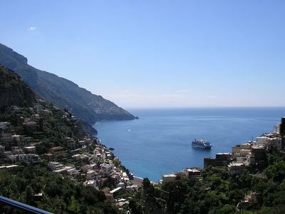 panorama from the holiday house Positano