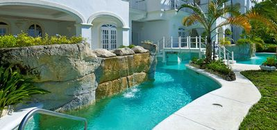 Photo for Old Trees 3, Halcyon  -  Beach Front - Located in  Exquisite Saint James with Private Chef Services