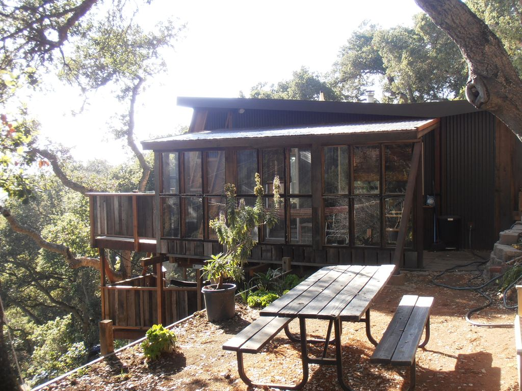 Bella cabina big sur ocean view studio cabin secluded for Big sur cabin