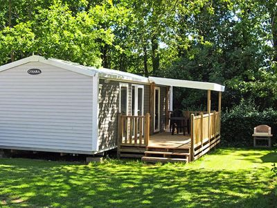 Photo for Camping La Grande Métairie ***** - Air-conditioned Privilege 3-room mobile home 4 people