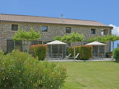 Photo for 18th century farmhouse on a domain of 1.2 ha with vineyard, private swimming pool, and pool house